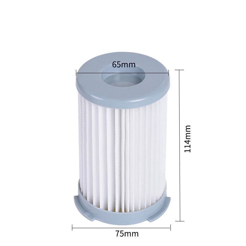 4Pcs Washable robot <font><b>vacuum</b></font> cleaner Cartridge Pleated HEPA Filter EF75B for <font><b>Electrolux</b></font> <font><b>ZS203</b></font> ZTI7635 ZW1300-213 Replacement parts image