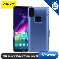 10000Mah Für Huawei Ehre Hinweis 10 Batterie fall Externe Backup-Ladegerät Abdeckung Power Bank Für Huawei Ehre Hinweis 10 batterie Fall