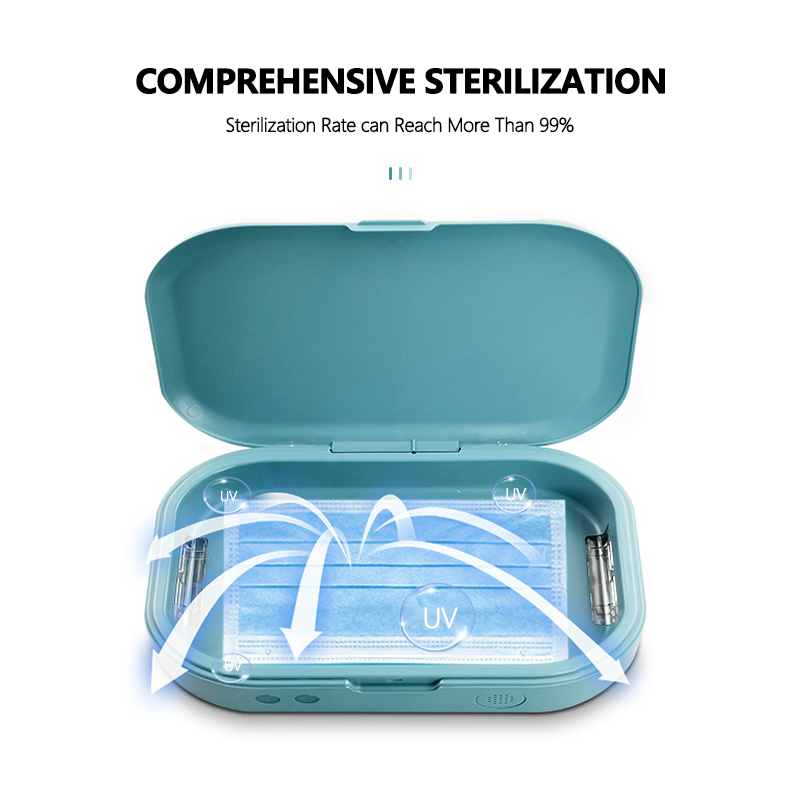 UV Sterilizer Box  With Aromatherapy Function Multipurpose Portable Toothbrush Cell Phones Face Mask Disinfection Machine