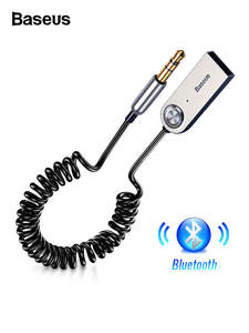 Baseus Aux Bluetooth Adapter Dongle Cable For Car 3.5mm Jack Aux Bluetooth 5.0 4.2 4.0