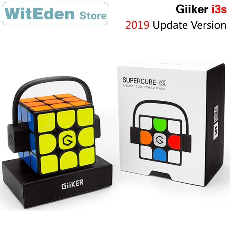 Giiker i3s 2019 Version de mise à jour Super Intelligent 3x3x3 Cube magique 3x3 magnétique AI Bluetooth APP Intelligent Cube de vitesse Puzzle jouets