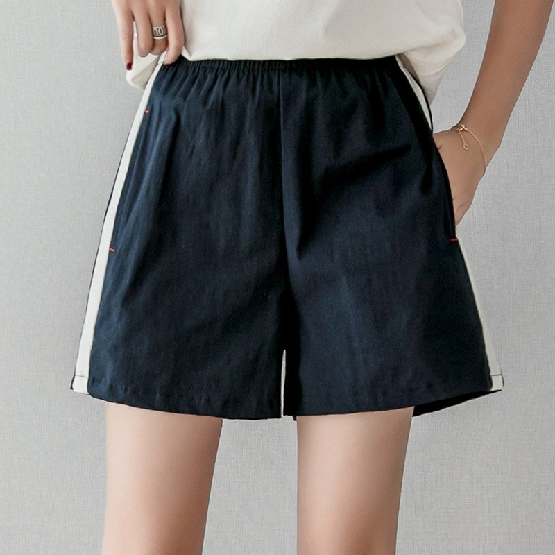 Shorts Femme Summer Casual Shorts Beach High Waist Short Fashion Tightness A Word Skirt Lady Shorts For Women