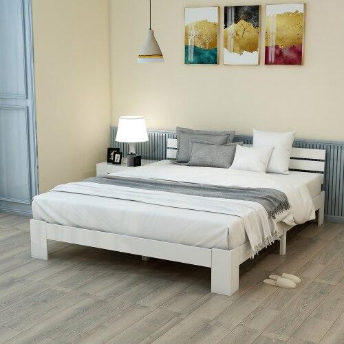 Muebles de dormitorio, muebles de casa, camas para dormitorio, cama de madera moderna, camas inteligentes, marco de cama inteligente