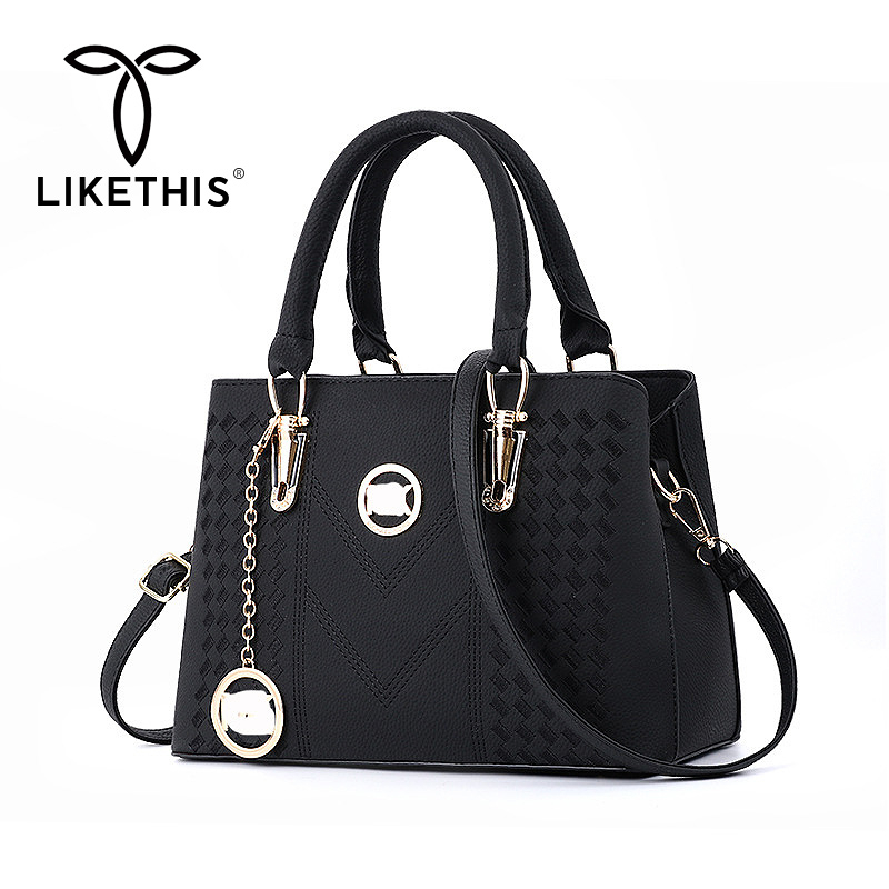 Dropshipping Women Handbag Crossbody Bags 2020 Black Hand Bags Tote Borsa Donna Bolso Mujer Сумка Через Плечо