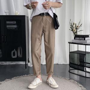 Straight Casual Pants Men's Sl