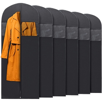 hanging-garment-bags-for-storage-and-travel-suit-bag-dress-shirt-coat-and-dress-cover-with-window-zipper-set-5-pcs