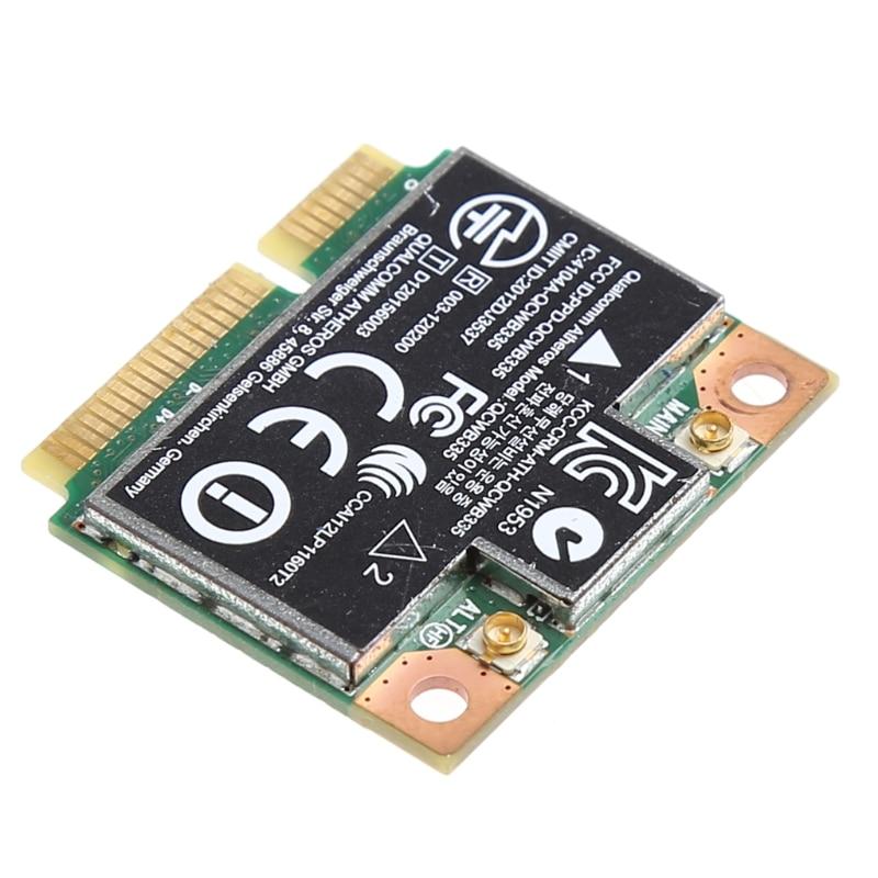 Bluetooth 4,0 Wifi Беспроводная мини PCI-E карта для hp QCWB335 AR9565 SPS 733476-001 E5BA