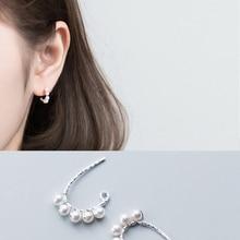 La Monada Hoop Earrings For Women Silver 925 Minimalist Trendy Fine Jewelry Sterling