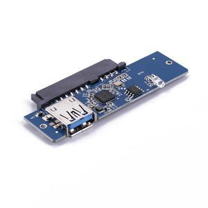 """Image 5 - 5GBps Übertragung Geschwindigkeit USB 3,0 Zu 2.5 """"SATA 7 + 15Pin Festplatte Adapter Für SATA 3,0 SSD & HDD Maximale unterstützung 3TB festplatte"""