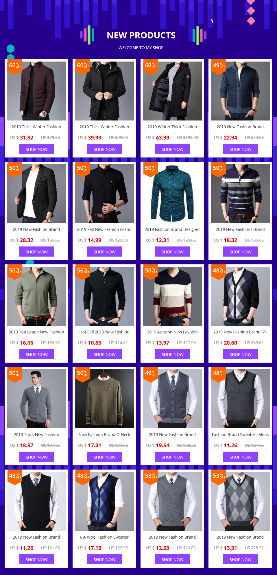 2019 Autumn New Fashion Brand Sweater Man Pullovers Striped Slim Fit Jumpers Knitwear Woolen Korean Style Casual Men Clothes 23