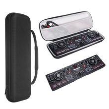 Custodia protettiva Duro Sacchetto di Immagazzinaggio Box Per Il Trasporto per Numark DJ2GO2 Tasca Controller DJ