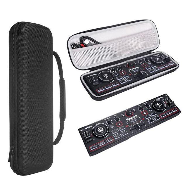 Protective Case Hard Storage Bag Carrying Box for Numark DJ2GO2 Pocket DJ Controller