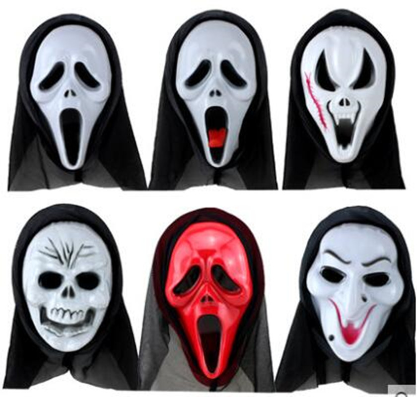 Halloween Cosplay Mask Man Full Face Horror Child Funny Devil Grimace Scary Funny Mask Devil Death Headgear