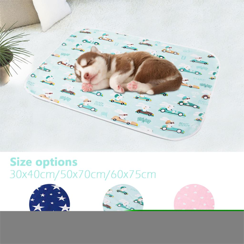 Baby diaper pet dog portable foldable washable waterproof mattress travel mat floor mat seat cushion reusable cushion cover