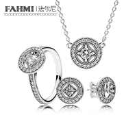 2020 YCS 100% 925 Sterling Silver SALE Vintage Allure Gift Set Charms rings Fit DIY Original Jewelry A Set