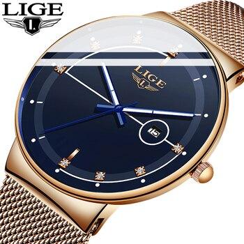 שעון אופנתי לגבר / אשה LIGE 1