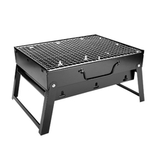 цена на New Hot Folding Bbq Grill Portable Barbecue Charcoal Grill Wire Meshes Tools For Outdoor Camping Cooking Picnics Hiking