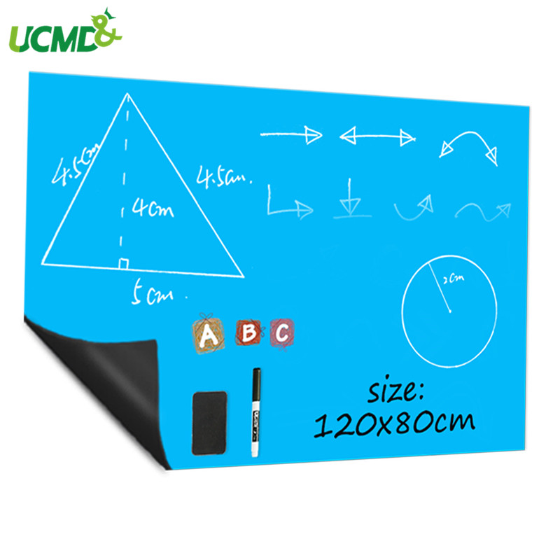 Soft Iron Message Reminder Memo Whiteboard Erasable Removable Writing Graffiti Whiteboard Sticker Hold Magnets Home Decoration