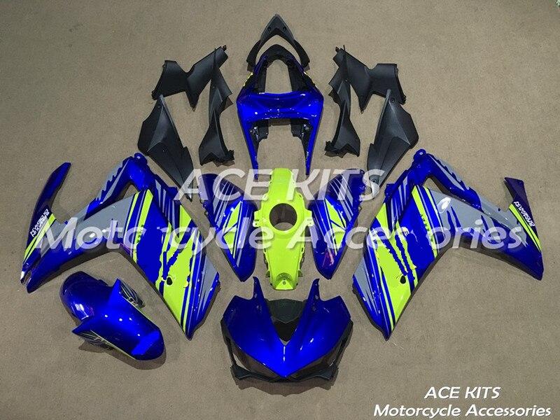Nuovo ABS Carenatura del motociclo Per Yamaha R25 R3 2015 2016 2017 Iniezione Bodywor Tutti i tipi di colore N ° 173