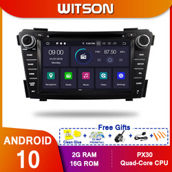 WITSON Android10 Octa core PX5 CAR DVD player For HYUNDAI I40 2011-2013 Car GPS Navigation Multimedia