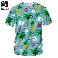 Ogkb горячая распродажа мужские/wo мужские 3d футболки с принтом