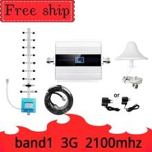 Amplificador 3g WCDMA 2100, amplificador de señal móvil band1 UMTS 2100MHZ GSM 3G, amplificador de señal móvil