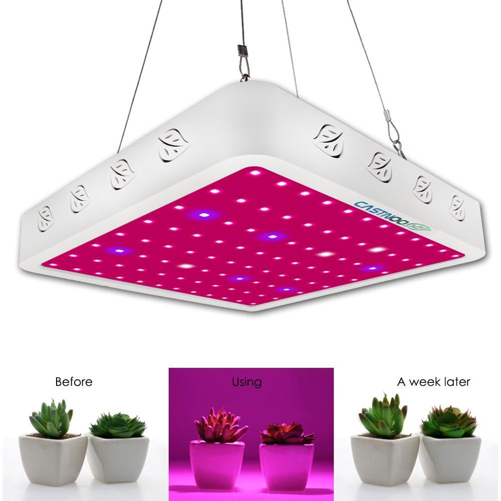 LED Grow Light Full Spectrum Indoor Hydro Veg Flower Grow Panel Hydroponic Growing System Plant Growing Light