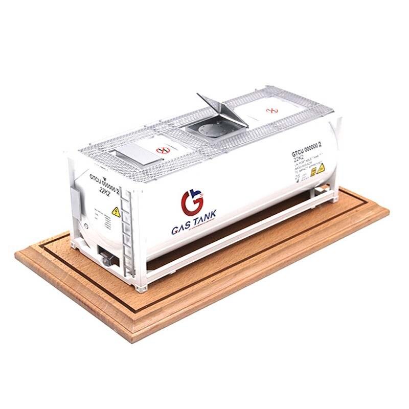 1:20 échelle alliage réservoir modèle conteneur T11 version personnalisée ingénierie transport véhicule métal raccords F véhicule voiture jouet cadeau