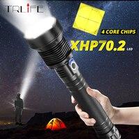 Usb 슈퍼 브라이트 xhp70.2 전술 손전등 토치 강력한 램프 충전식 줌 3 라이트 모드 xhp50.2 18650 또는 26650 배터리-에서LED 손전등부터 등 & 조명 의