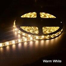 LED Strip 5050 Black PCB DC12V Flexible LED Stripe Light Bar Waterproof for Car Boat Home TV Back Christmas Decoration