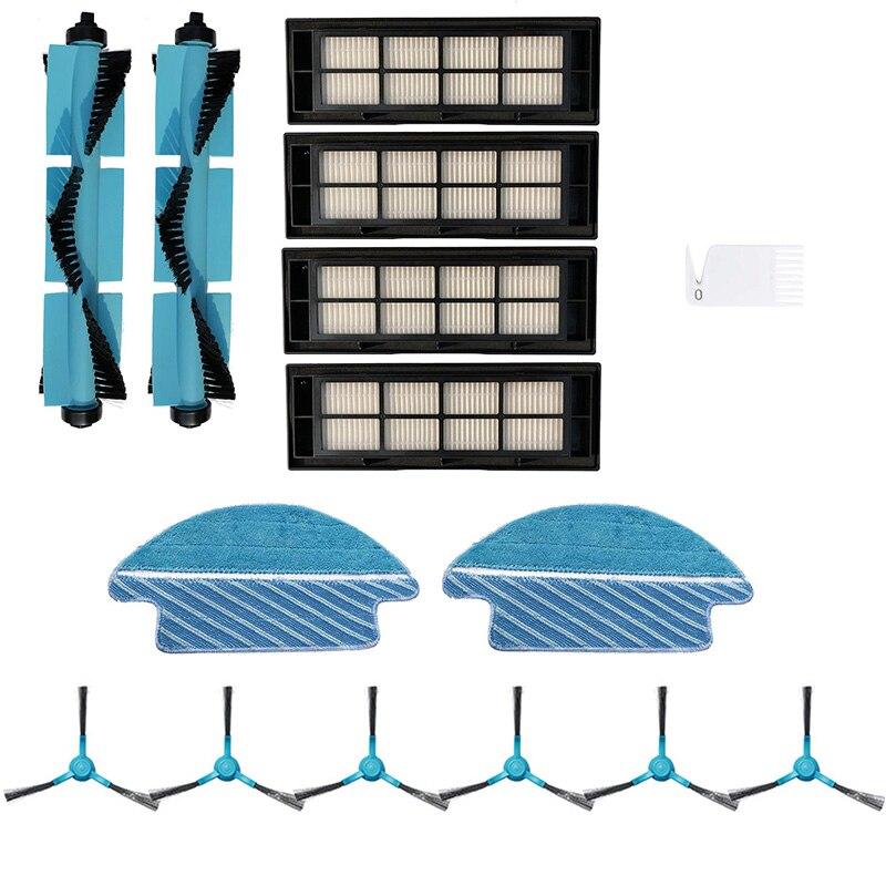 Ev ve Bahçe'ten Temizlik Fırçaları'de Fırçalar filtre paspas bezi kiti Cecotec Conga 3090 elektrikli süpürge aksesuarları title=