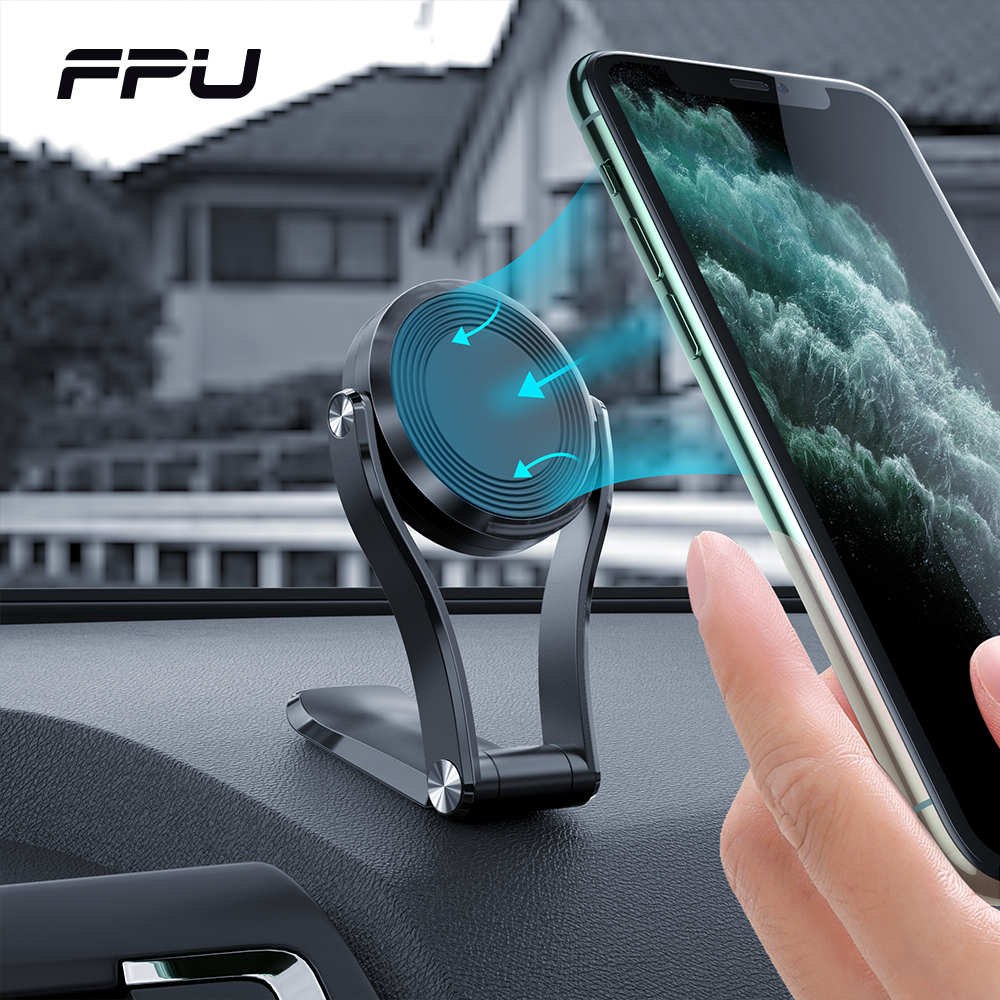 FPU Magnetic Car Phone Holder Stand Magnet Holder For Phone In Car Universal Mobile GPS Support Mount For IPhone 11 Xiaomi Mi 9