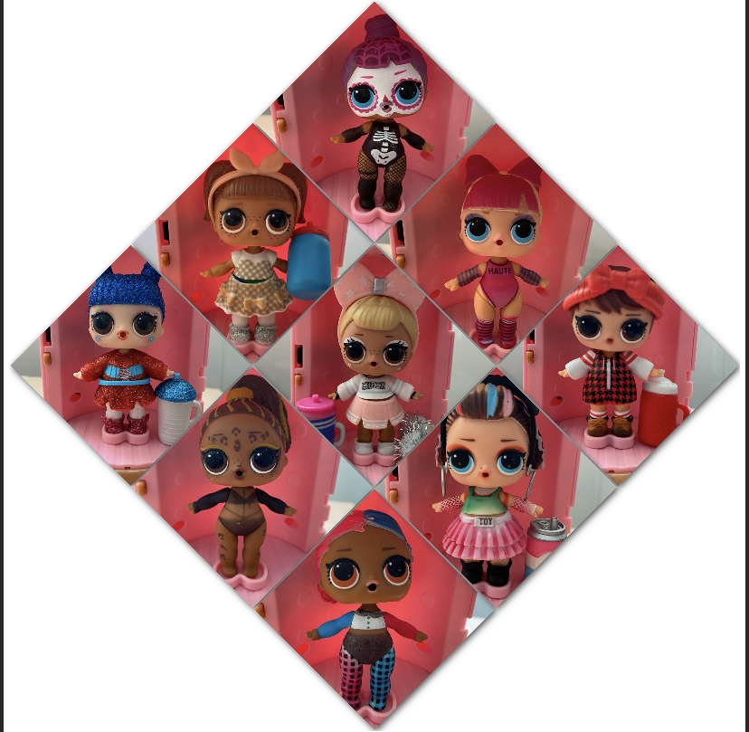LOL Doll Surprise Original  Generation 4 Capsule Action Figure Model Girl Toys For Children
