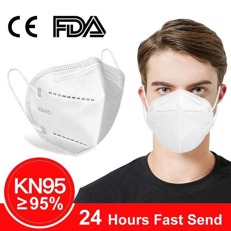 KN95 Reusable Face Masks Adjustable N95 Dust Full Face Mask With Anti-fog Dust-proof Mouth Filter Mask N95 Respirator FFP2 KF94