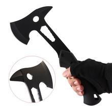 Многофункциональный наружный кемпинговый Топор с ручкой из полипропилена, инструменты для самообороны, выживания, походный охотничий топор, нож для пикника, инструмент