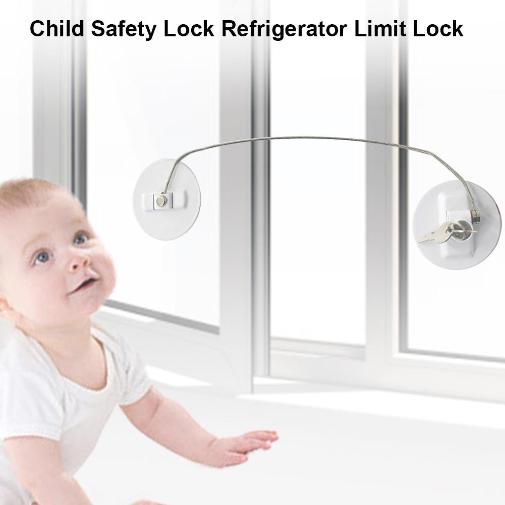 Punch-free Window Security Lock Child Protection Window Security Lock Child Safety Lock Refrigerator Limit Lock
