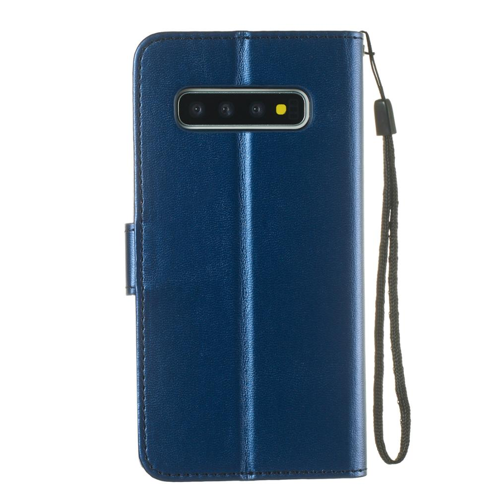 Fashion PU Leather Case For Samsung Galaxy S3 S4 S5 S8 S9 S10 Plus S6 S7 Edge Note 10 8 9 Pro Flip Wallet With Card Slot Cover