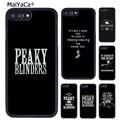 MaiYaCa чехол для телефона с изображением Томаса Шелби с отрывными слепками для iPhone 5 6S 7 8 plus 11 12 Pro X XR XS Max Samsung Galaxy S7 S8 S9 S10