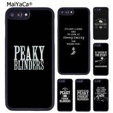 Maiyaca peaky blinders thomas shelby citação caso de telefone para o iphone 5 6s 7 8 plus 11 12 pro x xr xs max samsung galaxy s7 s8 s9 s10