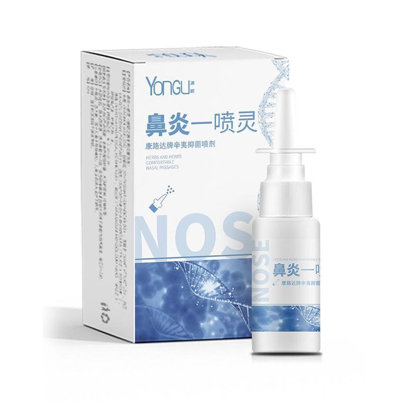 Chinese Herb Medical Spray Nasal Seasonal Allergy Chronic Rhinitis Spray Rhinitis Treatment Nose Care Health Care Tool Anti-snor