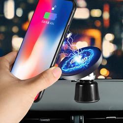 JE w pełni skórzany styl bezprzewodowa ładowarka  QI szybkie bezprzewodowe ładowanie Pad  kompatybilny z iPhone Xs Max/XR/XS/X/8/8 Plus  Galaxy S10/S9 w Ładowarki bezprzewodowe od Telefony komórkowe i telekomunikacja na