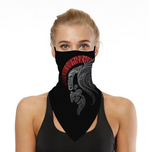 Women's Men's Solid Color Multi-function Seamless Quick-drying Visor Anti-sweat Belt Bandana Camera Protective Sleeve Outdo QJ 4