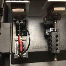 Tgt t3pa t300 t3pa kit de amortecimento freio ajustável diy pedal para thrustmaster t3pa jogos corrida atualização peças acessórios