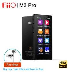 FiiO M3 Pro полноразмерный сенсорный без потерь DSD HiFi портативный музыкальный плеер MP3, поддержка USB DAC,HD запись, электронная книга, встроенный кал...