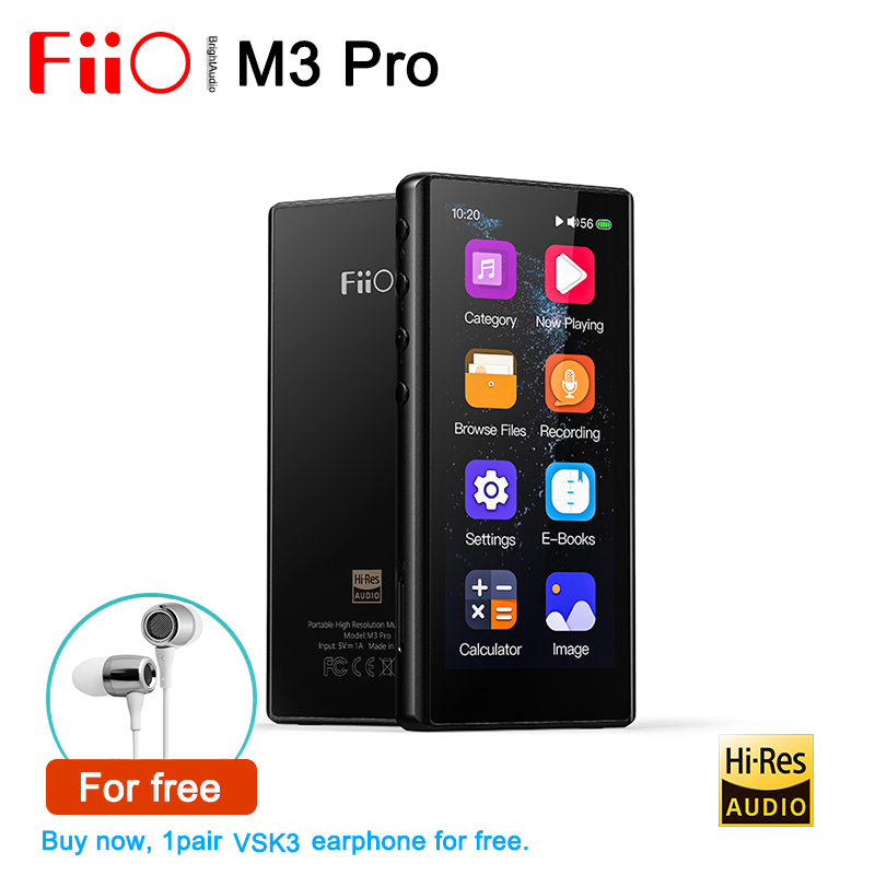 Hot DealsFiio Calculator Music-Player Recording E-Book Mp3-Support Usb Dac Dsd Hifi Lossless Full-Touchscreen