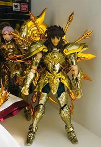 Image 5 - CS Modell Saint Seiya Tuch Mythos Seele von Gott SOG EX Gold Waage Dohko metall Tuch SC014