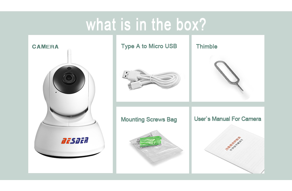 H42d1583c4bf546a3bed408867216c83eV BESDER 1080P 720P Home Security IP Camera Two Way Audio Wireless Mini Camera Night Vision CCTV WiFi Camera Baby Monitor iCsee