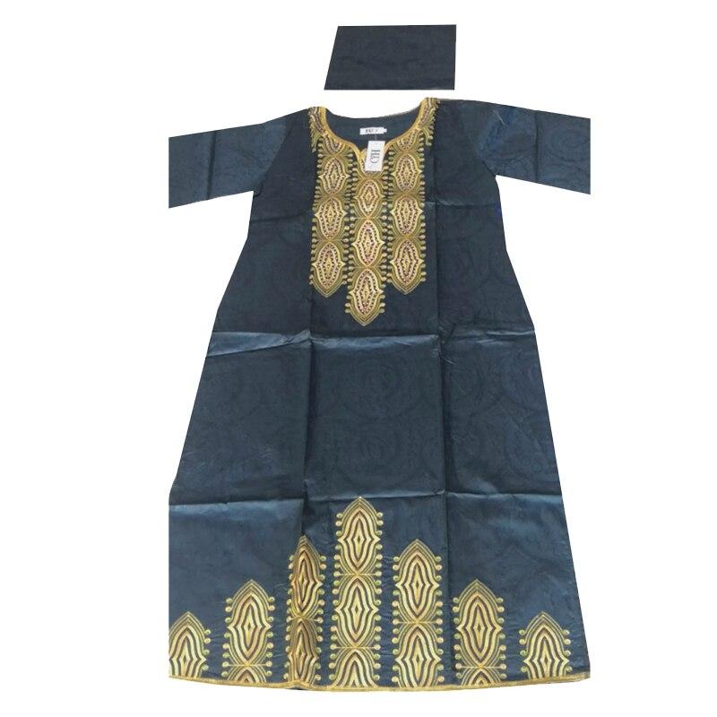 Image 4 - MD 2019 nouvelles robes pour les femmes robe longue africaine bazin dashiki vêtements robe de soirée de mariage tenue de grande taille traditionnelleVêtements style africain   -