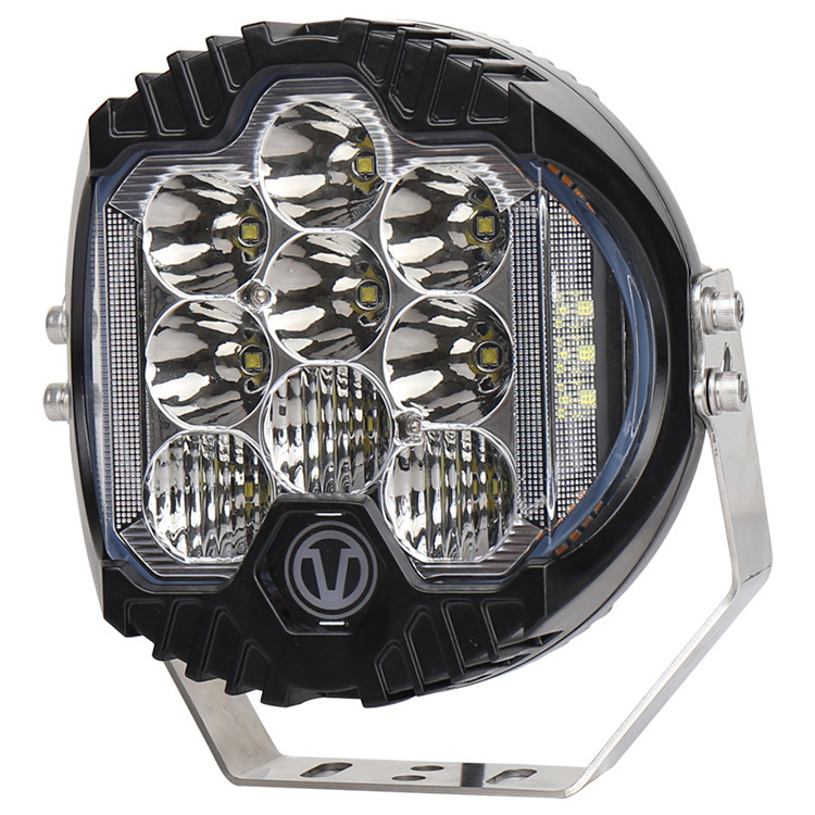7 Inch Headlight Concentrated Work Lamp Of 90 W High Brightness Cross-country Modified Light Wrangler With Day Light