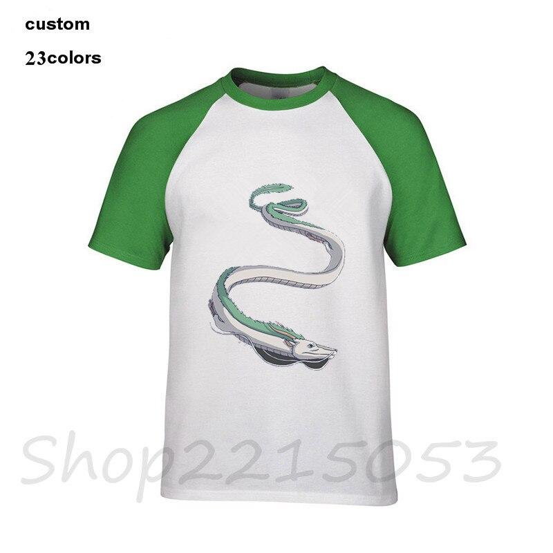 Haku Anime Movie Spirited Away Studio Ghibli Men Manga Video Game Tshirts Dragon Ball Z Japanese T Shirt Kids Boy Girls T Shirts T Shirts Aliexpress